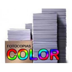 IMPRESION A4 COLOR CARTULINA