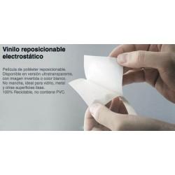 VINILO REPOSICIONABLE ELECTROSTÁTICO