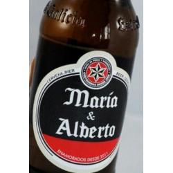 Etiqueta cerveza personalizadas